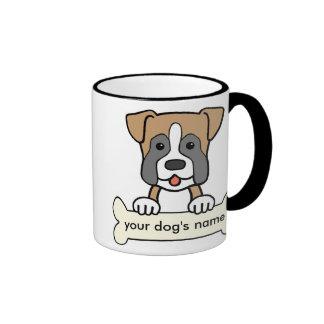 Personalized Boxer Coffee Mugs