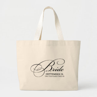 PERSONALIZED BRIDAL BAG | BRIDE