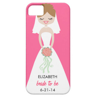 Personalized Bride iPhone 5 Case-Mate Barely There iPhone 5 Cover