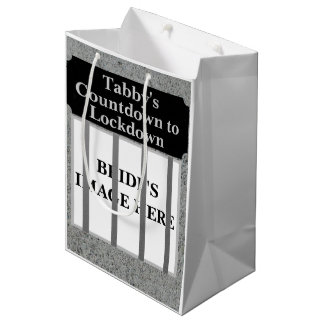 Personalized Bride's Countdown to Lockdown Bag