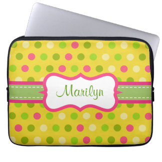 Personalized Bright Dot Laptop Case Laptop Computer Sleeves