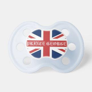 Personalized British Flag Royal Prince Baby Dummy