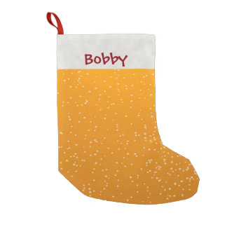 Personalized Brown Ale Beer Stocking