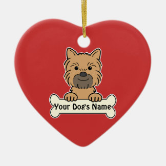 Personalized Brussels Griffon Ceramic Ornament