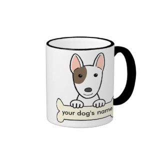 Personalized Bull Terrier Ringer Mug