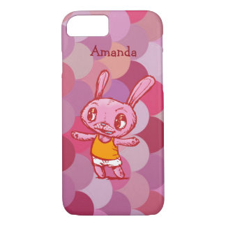 Personalized Bunny iPhone Case