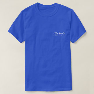 Personalized Business T-Shirt