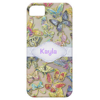 PERSONALIZED BUTTERFLY CHIC CUSTOM I PHONE 5S CASE