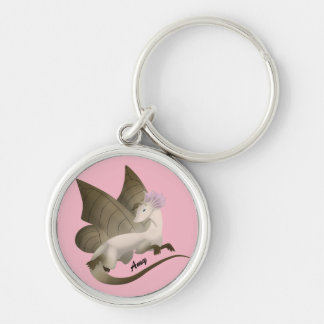 Personalized Butterfly Dragon Keychain
