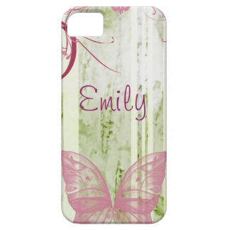 Personalized Butterfly Floral Phone Case
