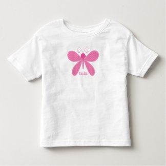 Personalized Butterfly Kids T-Shirt