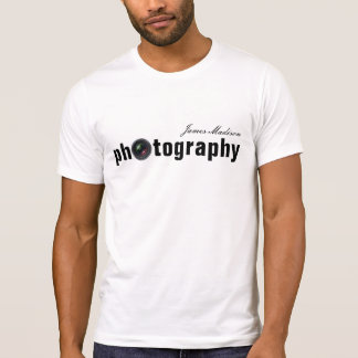 Personalized Camera Lens Photography Tshirts