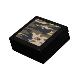 Personalized Camo Pattern Gift Box