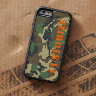 Personalized Camouflage Print Tough Xtreme iPhone 6 Case