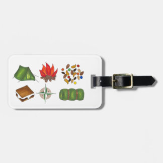 Personalized Camp Camping Hiking Luggage Tag