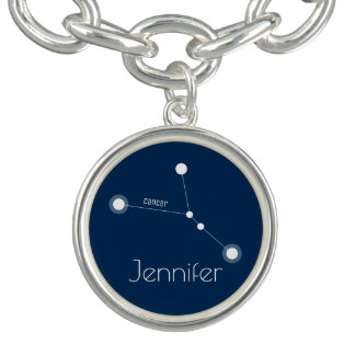 Personalized Cancer Zodiac Constellation