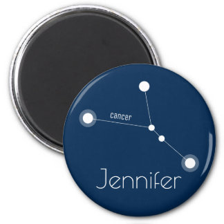 Personalized Cancer Zodiac Constellation Magnet