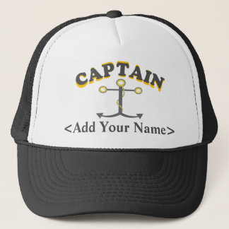 Personalized Captain Hat