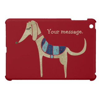 Personalized Cartoon Dog Cover For The iPad Mini