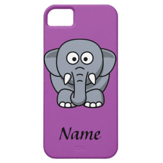 Personalized Cartoon Elephant Case For The iPhone 5