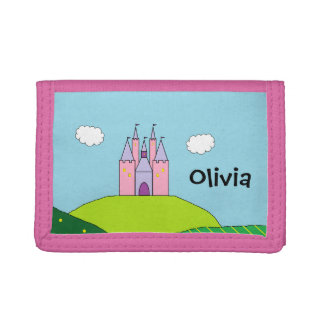 Personalized Castle Wallet