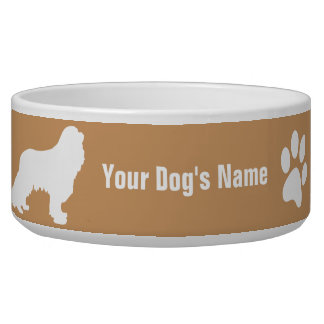Personalized Cavalier King Charles Spaniel キャバリア Pet Water Bowl