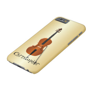 Personalized Cello Design Barely There iPhone 6 Case