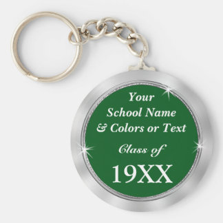 Personalized CHEAP Class Reunion Souvenir Ideas Basic Round Button Key Ring