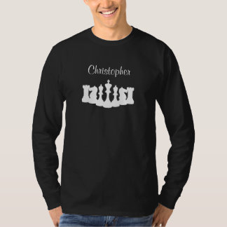 Personalized Chess Long Sleeve Shirt for Men
