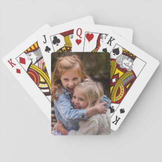 Personalized Children Photo Playing Cards