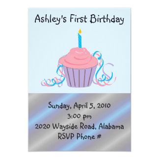 Personalized Childrens Birthday 13 Cm X 18 Cm Invitation Card