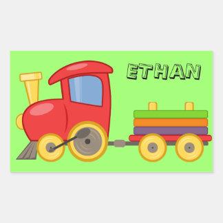 Personalized Child's Train Sticker