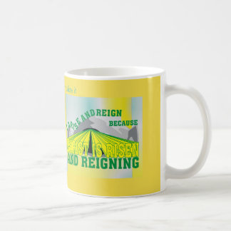Personalized Christ is Risen & Reigning  Eng Coffee Mug