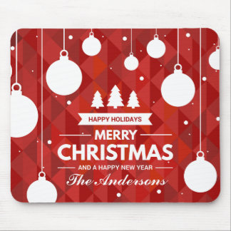 Personalized Christmas Holiday | Mousepad