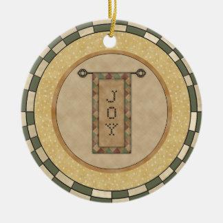 Personalized Christmas Joy Ornament