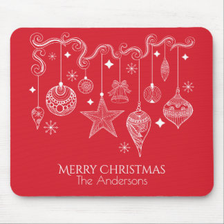 Personalized Christmas Ornaments | Mousepad