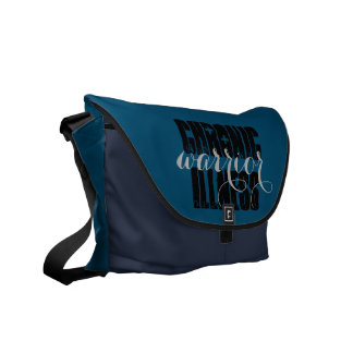 Personalized Chronic Illness Warrior Commuter Bags