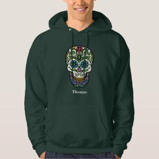 Personalized Cinco de Mayo Colorful Sugar Skull Hoodie