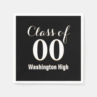 Personalized Class of Graduation Paper Napkin