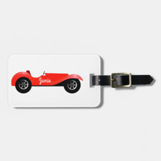 Personalized Classic Car Luggage Tag
