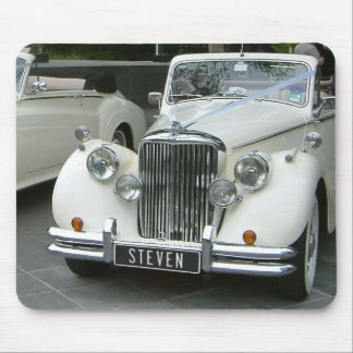 Personalized Classic Car w/ Your Name! Mouse Pads