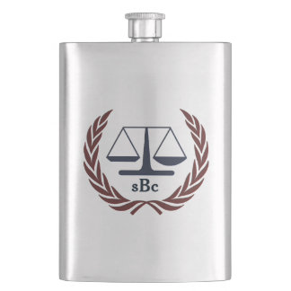 Personalized Classic Flask for Attorney Lawyer Flask
