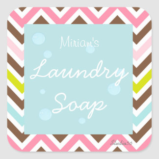 Personalized Cleaning Sticker Label 2