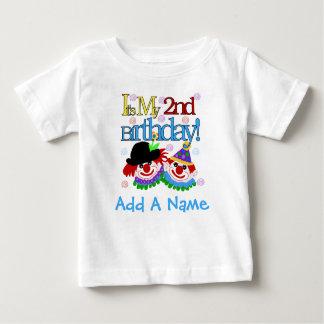 Personalized Clowns 2nd Birthday  Tshirt