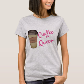 Personalized Coffee Queen T-Shirt
