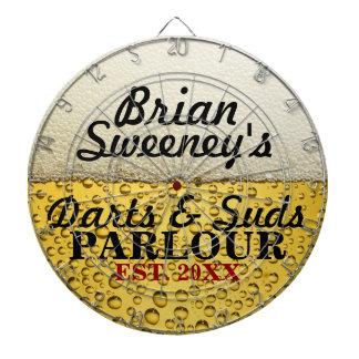 Personalized Cold Brew Dartboard