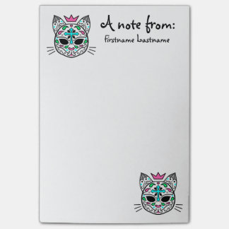 Personalized colorful cats post-it® notes