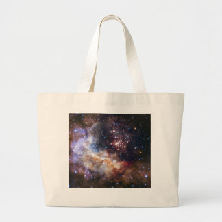 Personalized Colorful Fireworks Hubble Space Bag