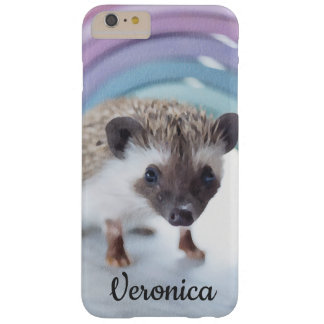 Personalized Colorfully Tiny Hedgehog Barely There iPhone 6 Plus Case