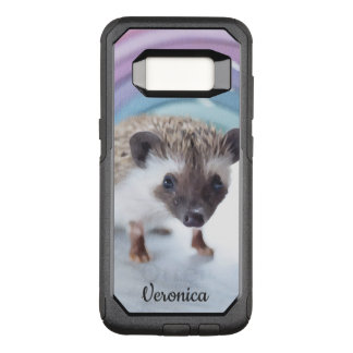 Personalized Colorfully Tiny Hedgehog OtterBox Commuter Samsung Galaxy S8 Case